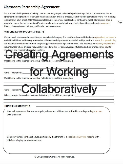 CLASSROOM.PARTNERSHIP AGREEMENT
