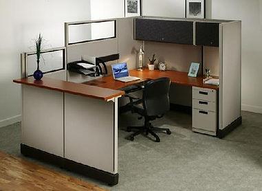 Reception workstation