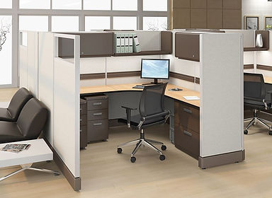 6x6 corner workstation