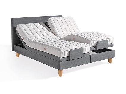 Boxspring-Bett, ohne Metallfedern, natürlich, ökologisch, Schweiz