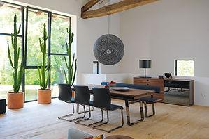 table en bois massif, team7, suisse, neuchâtel, yverdon, berne