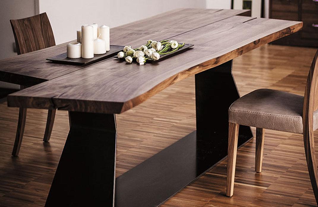 Loft-Tisch, Massivholz-Tisch, Team7, Schweiz
