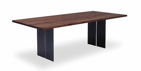 Massivholz-Tisch, Nussbaum, rustikal, Schweiz, Bern, Zürich