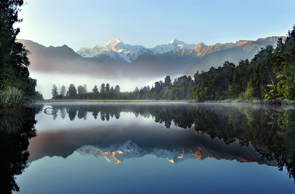Reflection of Lake Matheson.jpg