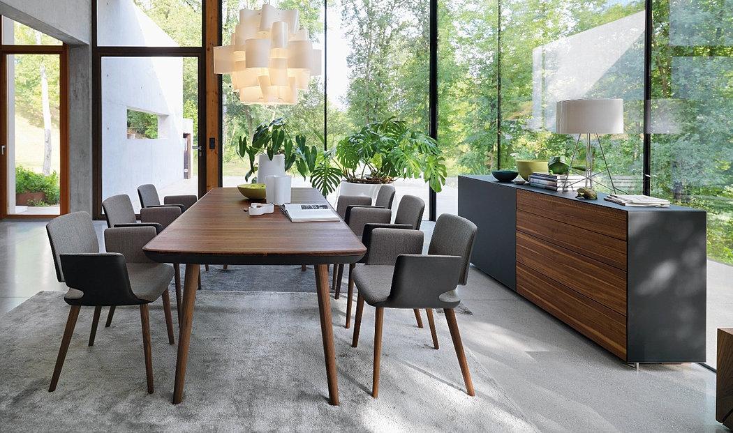tisch flaye von team7. Black Bedroom Furniture Sets. Home Design Ideas