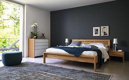 Massivholz-Betten, Massivholzbetten, Holzbetten, Naturlatex-Matratzen, Schweiz, Bern, Zürich