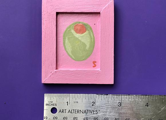 Mini Olive Painting