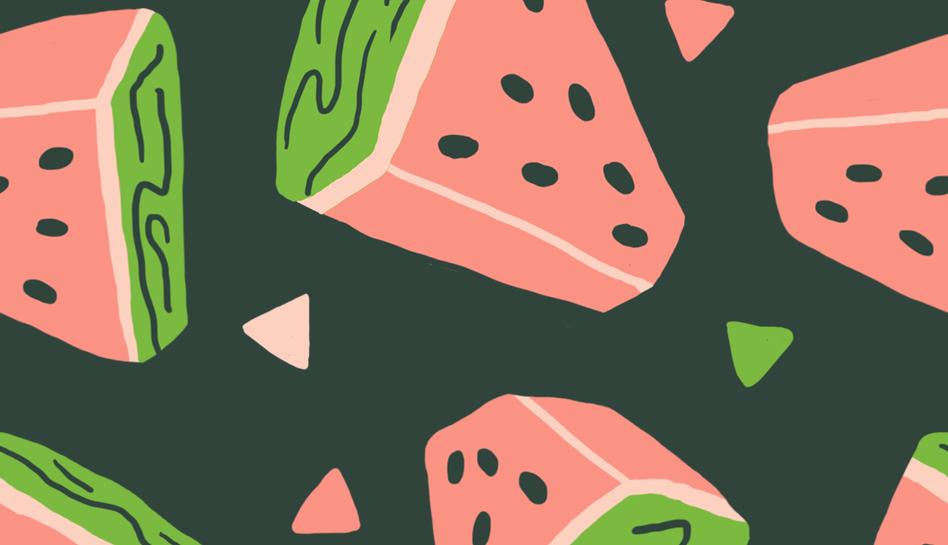 watermelon hunks