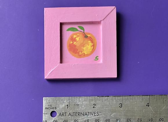 Mini Peach Painting