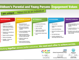 Oldham Parental and Young People's Values Launched!
