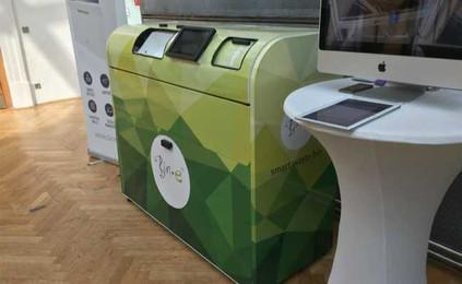 """""""Lixeira Inteligente"""" auxilia na separação de resíduos recicláveis."""