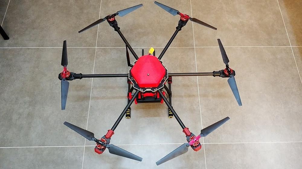 Drone utilizado para o projeto