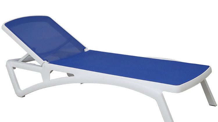 Polymer Resin Lounge Chaise