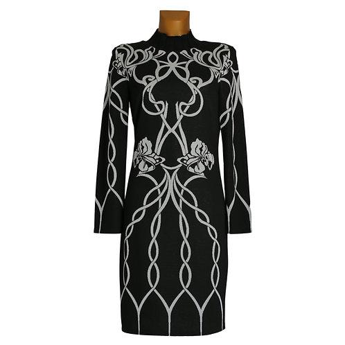 Ana Alcazar - Kleid mit Stehkragen