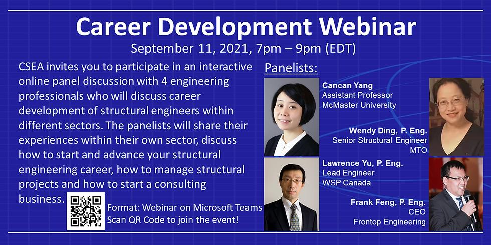 CSEA Career Development Webinar