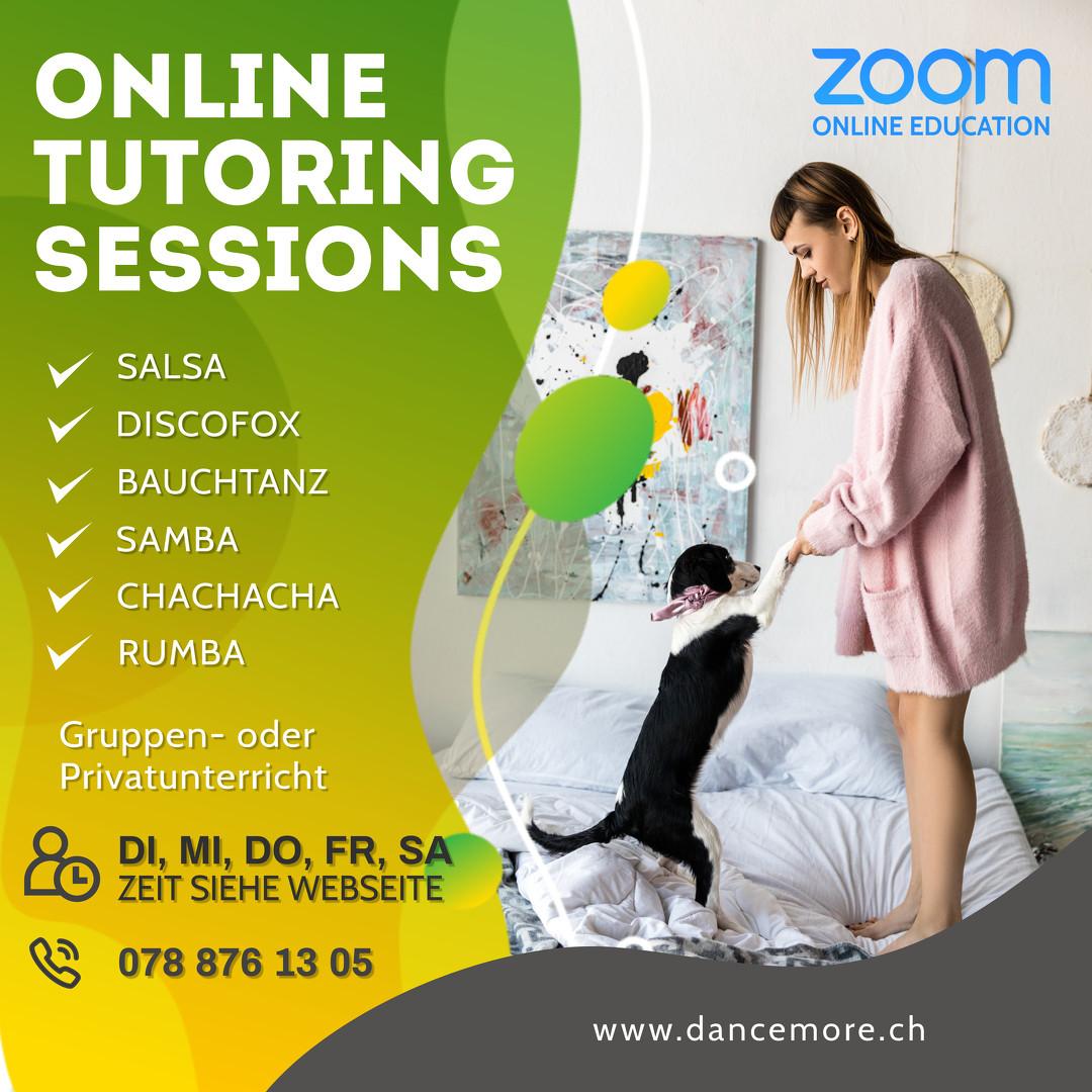 Wir tanzen auch online und du?