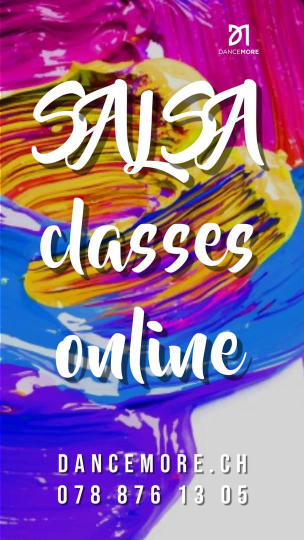 Salsa classes online