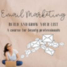 email marketing course for beauty professionals