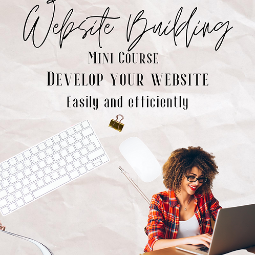 Website Building Mini Course For Beauty Professionals