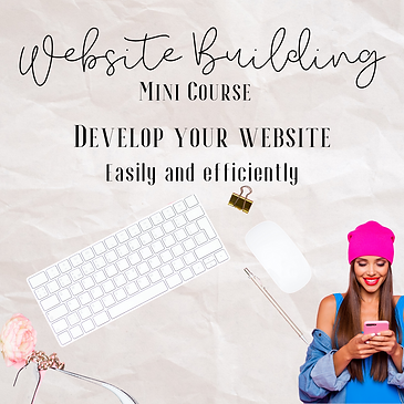 website building course for beauty professionals