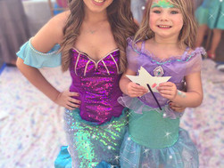 Sneak Peek at Ayla's Mermaid and Tinker Bell Party