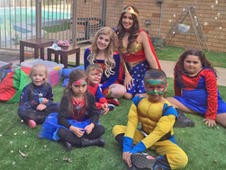 INSIDE LOOK! Annalise's Superhero Party!