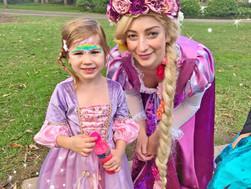 Ava's Princess Rapunzel Party!
