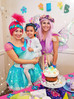 Josie's Trolls Party with Poppy and Purple Fairy!