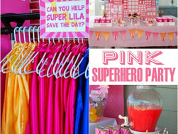 Party Theme Trend Alert! SUPERHEROES!