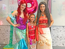 Moana and Ariel - The Perfect Duo - Jade's Party!