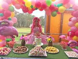 Mia's Pink Flamingo Party