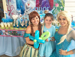 Chloe's Frozen Children's Party: Sneak Peak