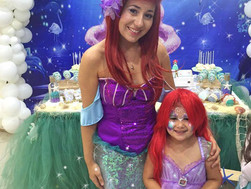 Angelina's Mermaid Party with Ariel & Rapunzel