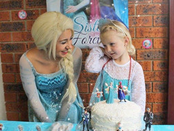 Tayla's Frozen Kid's Birthday Party!