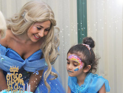 Sophia's Cinderella Party