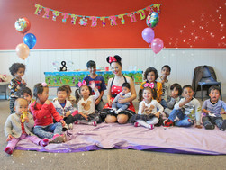 Scarlett & Sienna's Magical Minnie Mouse Party!