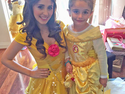 Isabella's Belle and Ariel Party!