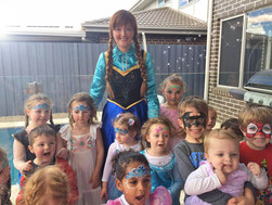 Charlotte's Frozen Party with Princess Anna!