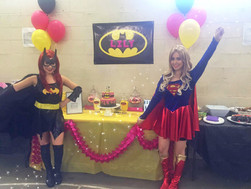 Lily's Superhero Deluxe Party!