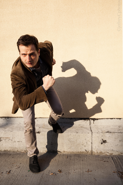 Bryan action pose
