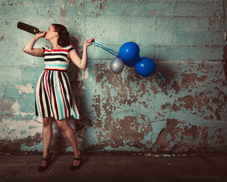Bottle Betsy Balloon