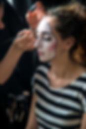 Spectacle de mime