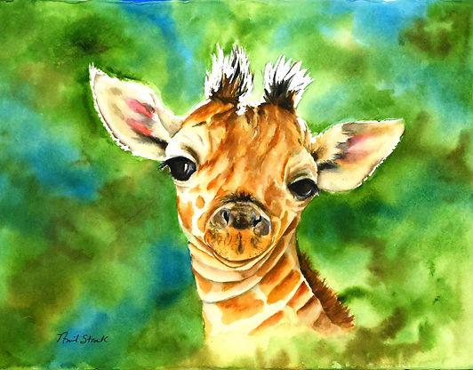 Aprils Giraffe 11x14.jpg
