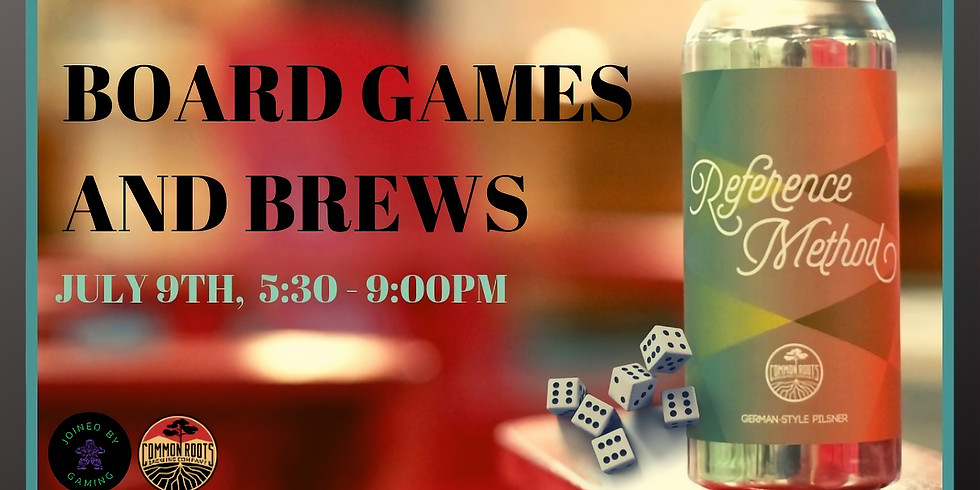 Board Games and Brews