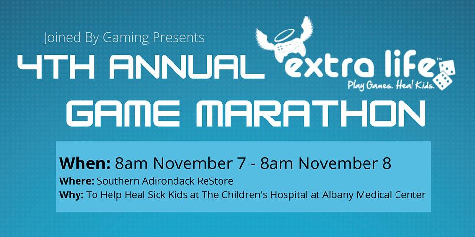 4th Annual Extra Life Marathon