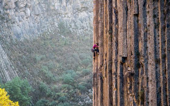 A influencia de cada rocha em escaladas