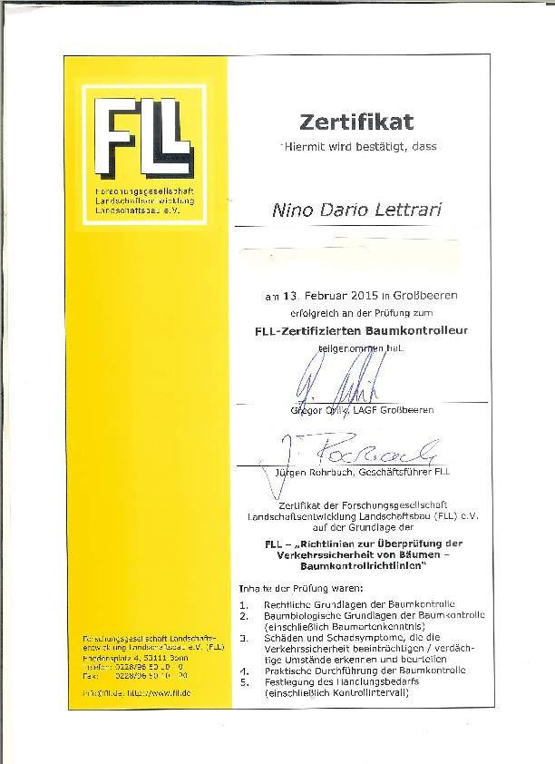 zertifizierter baumkontrolleur