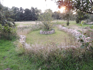 Findlingsmauer nahe Rostock