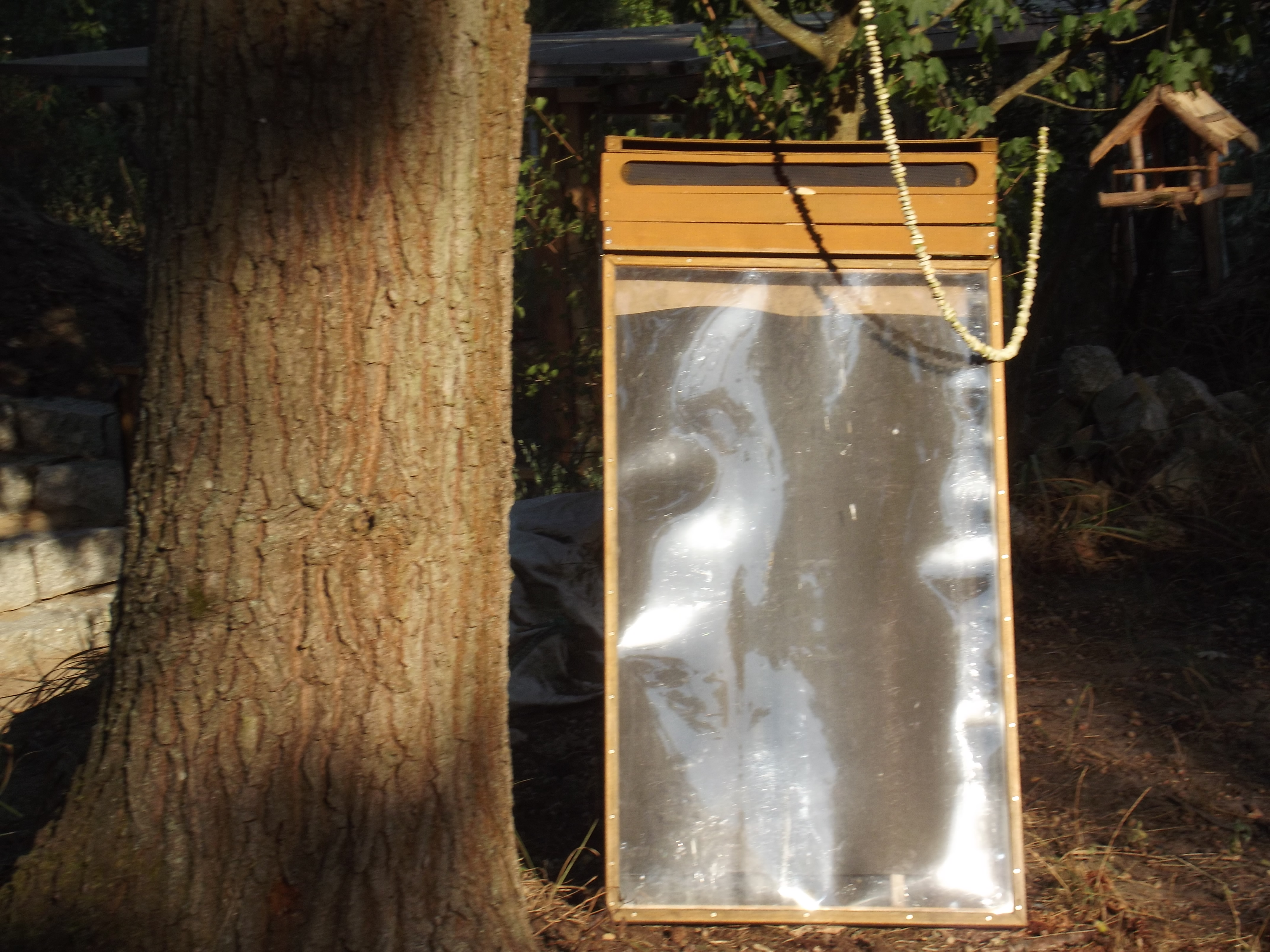 Sonnentrockner im Einsatz