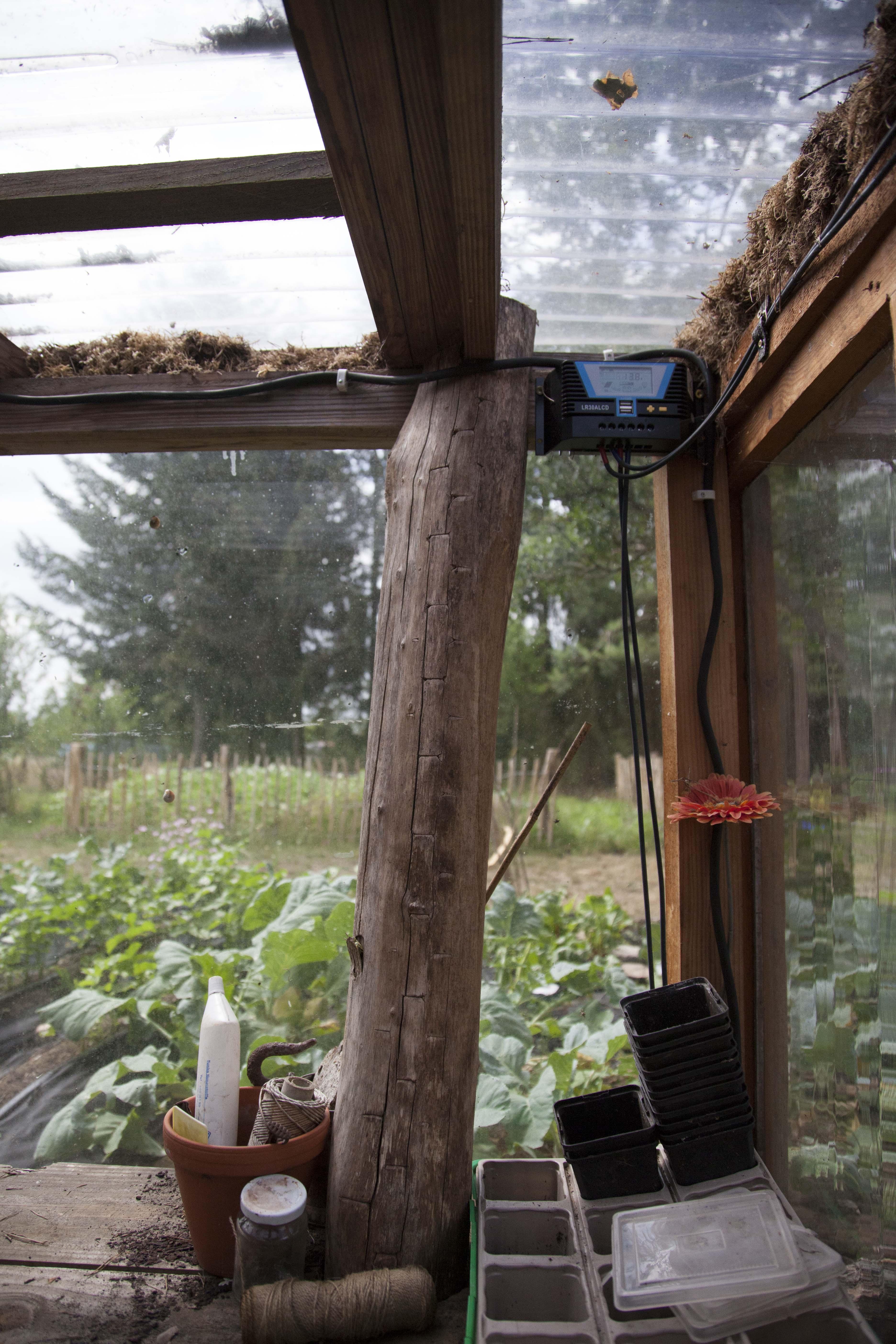 Solarstrom für´s Gewächshaus